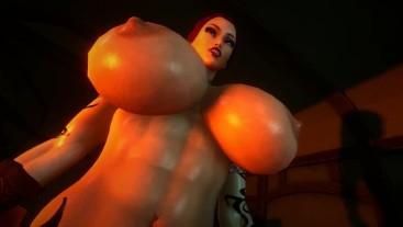 Giantess Futa - male taker pov