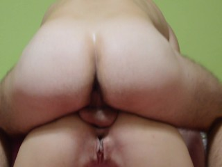 My hubby eats my pussy until orgasm and fills my ass with cum. #ParrotGirl