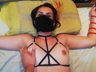 College roommate tied me up and fucked me cheating on BF