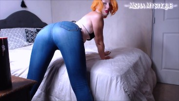Jeans Ass Worship JOI in My Bedroom - jeans fetish ass fetish countdown joi