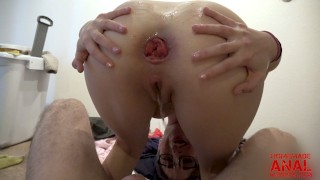 ANAL PRINCESS JANE WILDE GAPES WIDE AFTER DEEP ANAL SEX WITH BIG DICK