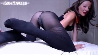 Films chauds porno - Misha Mystique Femdom Joi En Collants Sombres Domination Féminine Femdom Pov Compte À