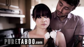 PURE TABOO Step Daughter is Jealous Of Mom's New Boyfriend