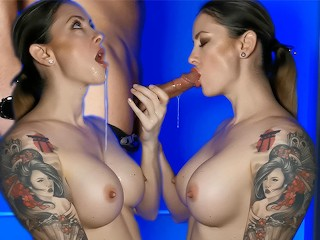 Passionate blowjob and oral creampie Wet Kelly Wet Kelly