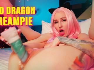 Playing with Bad Dragon dildo MyKinkyDope