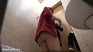 I've got a job Jeny Smith gets naked at her new job Hidden Cam Prank