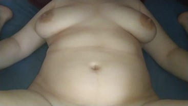 Very fast unprotected creampie in young wife pussy!