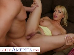 Naughty America - Milf Dana Dearmond Fucks Her Sons Friend