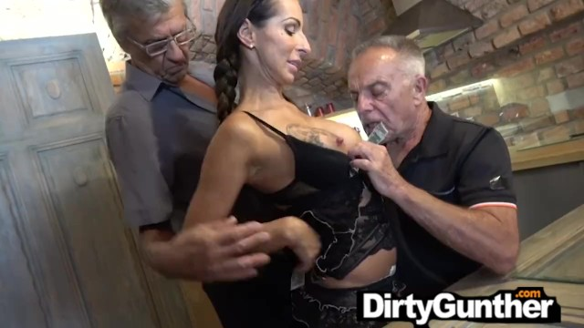 Dirty old man video porn Dirty old gunther and his fucked up family