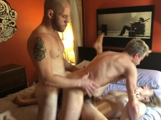 Bisexual MMF Threesome with Lily Love & Sherman Maus Lily Love, Wolf Hudson