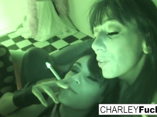 Gorgeous Charley Chase and busty Alia Janine fuck Alia Janine, Charley Chase