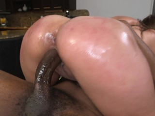 BAOS Hot PAWG er Luv Enchanted By Massage Client's Big Black Cock Skyler Luv