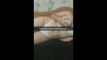 [Snapchat] Your young wife get a unprotected creampie from other guy