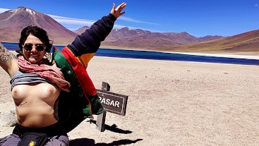 Last Porn on Atacama Desert! Porn Vlog 3 - Amateur Dread Hot