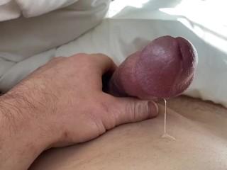 Throbbing cocks orgasm gets ruinedHUGE LOADS