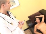 Big Booty Latina Mom Gets Pussy Fucked Hard by Her Doctor's Big Cock