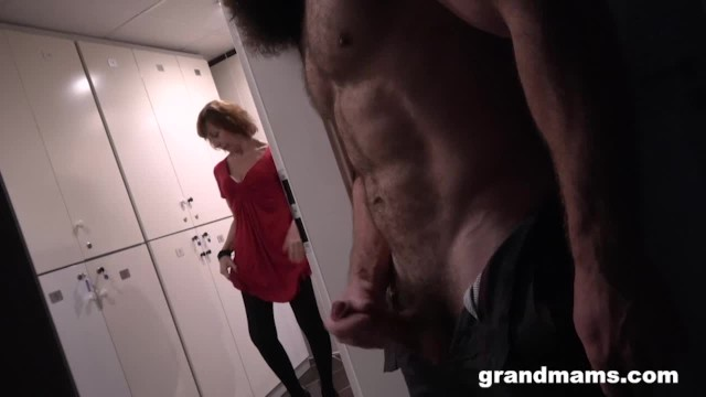 A man with two dicks videos Two grannies one muscle man