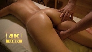 Teen Oil Massage And Incredible Female Orgasm By Letty Black | 4K |