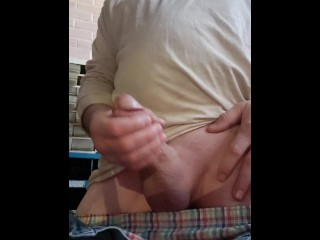 FPOV Edging And Precum To An Oozing Load