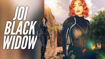 Black Widow Jerk Off Instruction JOI - Viuvá Negra Punheta Guiada COSPLAY