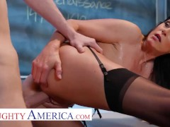 Naughty America India Summer Pummels Her Student