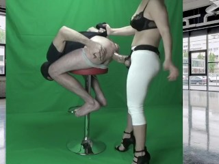 femdom strap on dildo giant