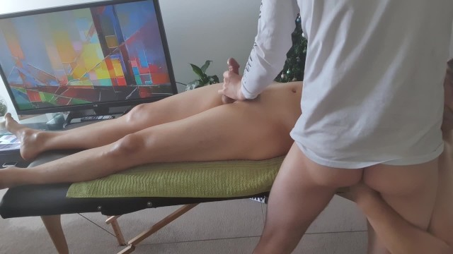 Erotic gay massage palm springs - Sexy korean guy comes over for erotic massage and moans loud for cumshot