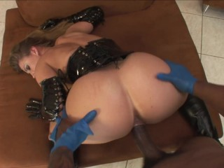 PAWG Busty Sex Slave Fucked Hard by Master's Hard BBC and Get Facialed