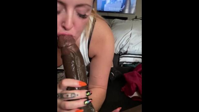Bbc Makes White Girl Cum