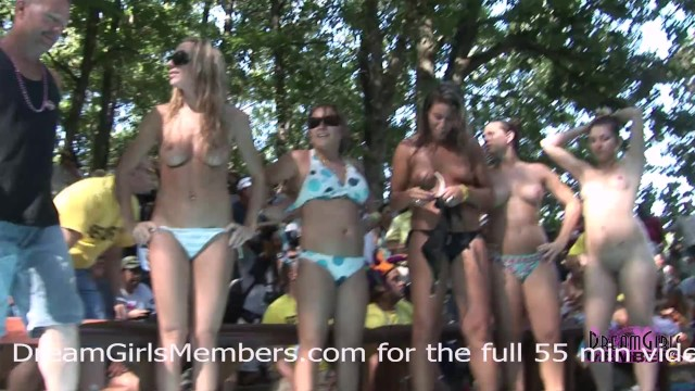 Naked in mexico resorts - Bikini contest at nudist resort gets wild everyone gets naked