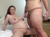 Pregnant Milf fucks me as I am gentleman handling her sensitive Big boobs
