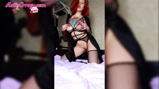 Female how to rub vagina - Beautiful girl in lingerie touching narrow vagina - soft erotica