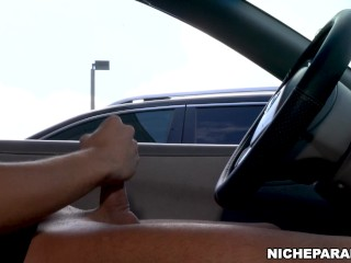 NICHE PARADE – Feisty Latina Giving Me A Lotta Lip For Flashing Cock
