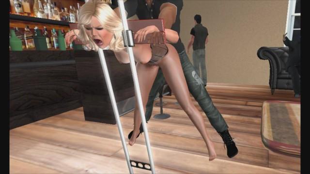 Pantyhose movies anal Pantyhose blonde fucked in pillory stockade