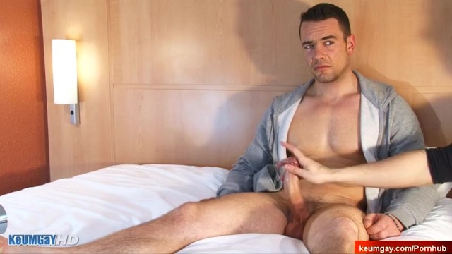 Gay dad sites - French sport dad made a porn where his big dick get wanked by a guy: ludo