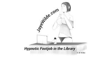 Hypnotic Footjob in the Library
