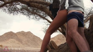 PUBLIC TEEN SEX IN THE DESERT – ISEEME 4K 60FPS