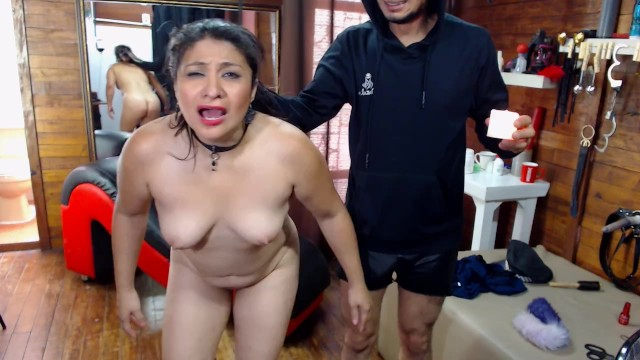 Punnished pussy - Brutal punishment, kick her pussy