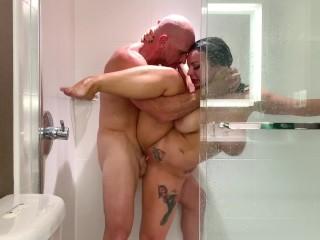 Johnny Sins - Insane Shower Sex