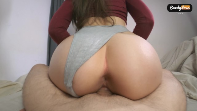 Candy lane nude - Unexpected creampie my riding pussy made him cum too early and deep inside