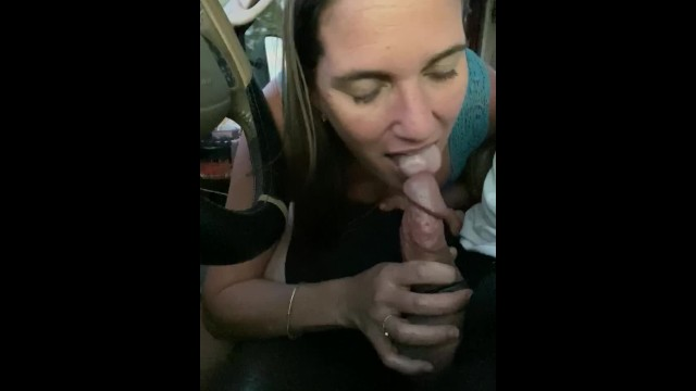 His low sex drive Gorgeous housewife needs to suck her cock on the highway