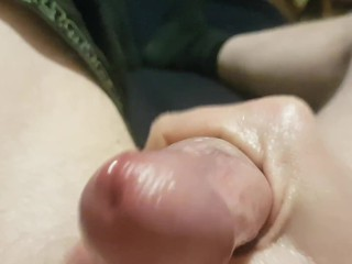 Most Beautiful Cock Straight Solo male bedtime relaxation cum explosion
