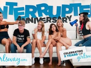 GIRLSWAY hat Sex zum 5-jährigen Jubiläum unterbrochen!