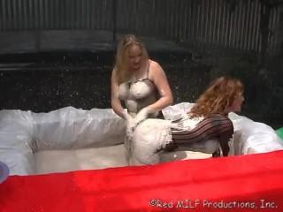 Rachel Steele Fetish Fun in the Clay Pit