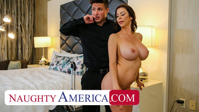 Sexy cougers naughty america - Naughty america alexis fawx tips bell boy with pussy