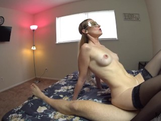 Slut Wife can't stop riding Cock and get Creampie inside 4K