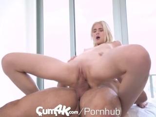 CUM4K Intense Rough Birthday Sex With Multiple Dripping Creampies