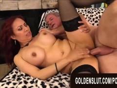 Golden Slut - Banging Big-titted Older Beauties Compilation Part 2