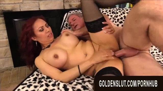 Beauty busty ebony Golden slut - banging busty older beauties compilation part 2