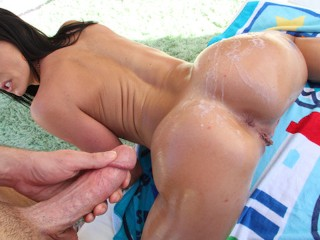 BAOS Delicious PAWG Kendra Lust Gets Cum On Her Big Ass Kendra Lust, Mike Adriano